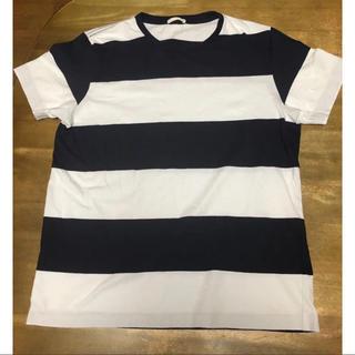 ジーユー(GU)のGU ワイドボーダー Tシャツ(Tシャツ/カットソー(半袖/袖なし))