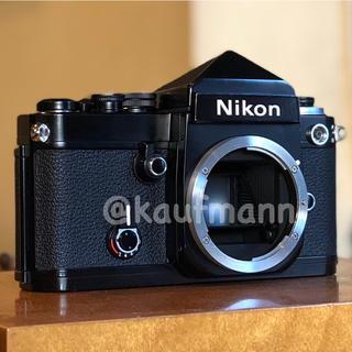 Nikon - ニコン F2黒アイレベル ボディ 撮影確認済み