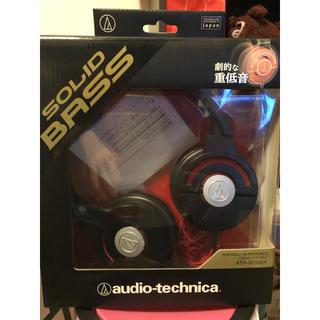 オーディオテクニカ(audio-technica)のaudio-technika SOLIDBASS ポータブルヘッドホン(ヘッドフォン/イヤフォン)