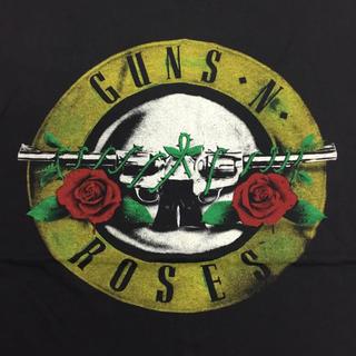 バンドTシャツ GUNS N' ROSES XLサイズ ガンズアンドローゼズ Ⅳ(Tシャツ/カットソー(半袖/袖なし))