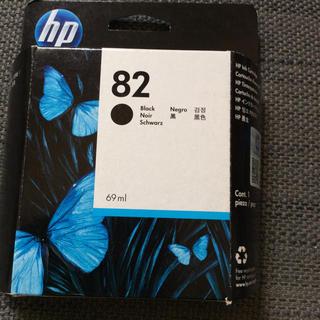 ヒューレットパッカード(HP)のhp インクカートリッジ   82 ブラック 黒  69ml  送料込み普通郵便(PC周辺機器)