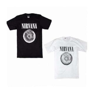 2枚セット 半袖 Tシャツ ニルヴァーナ ニルバーナ XL 白黒 メンズ(Tシャツ/カットソー(半袖/袖なし))