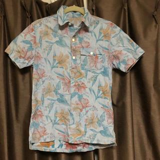 ギャップ(GAP)のGAP 花柄 半袖シャツ メンズ レディース ギャップ シャツ アロハシャツ(Tシャツ/カットソー(半袖/袖なし))
