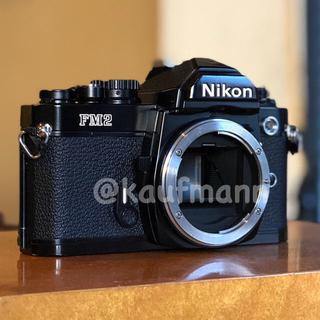 ニコン(Nikon)のニコンNew FM2 ボディ メンテナンス撮影確認済み(フィルムカメラ)