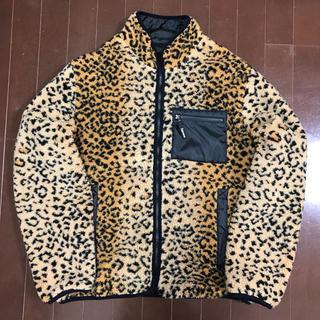 シュプリーム(Supreme)のsupreme leopard reversible jacket(ブルゾン)