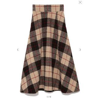 ミラオーウェン(Mila Owen)の新品♡ミラオーウェン♡大柄チェックマキシスカート(ロングスカート)