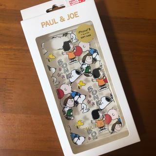 スヌーピー ポール&ジョー iPhone8.7.6.6sケース(iPhoneケース)