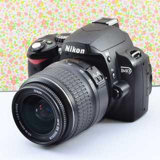 ✨Wifi & 小ぶりで可愛い✨ニコン D40 レンズセット(デジタル一眼)