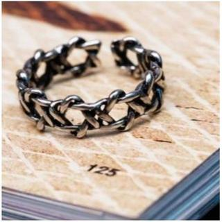 六芒星 ヘキサグラム モチーフ の リング 指輪 フリーサイズ (リング(指輪))