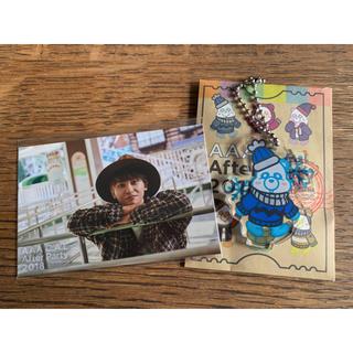 トリプルエー(AAA)のAAA 與真司郎 ビジュアルカード&アクリルキーホルダー(ミュージシャン)