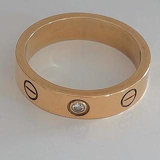 カルティエ(Cartier)のカルティエ  ミニラブリング  1Pダイヤ(リング(指輪))