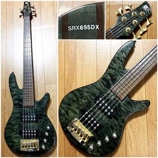 アイバニーズ(Ibanez)のIbanezスルーネック5弦ベース定価10万円以上SRXアクティブBASS木目(エレキベース)