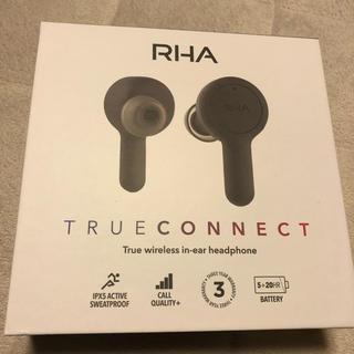 完全ワイヤレスイヤホン RHA TrueConnect(ヘッドフォン/イヤフォン)