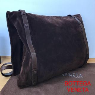 ボッテガヴェネタ(Bottega Veneta)の正規品 ボッテガ ヴェネタ メッセンジャー ショルダー バッグ 正規布保存袋付き(メッセンジャーバッグ)