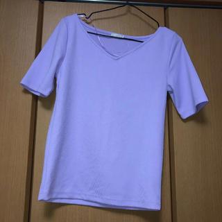 ジーユー(GU)のTーシャツ(Tシャツ(半袖/袖なし))