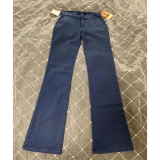 アールジーン(Earl Jean)のアールジーン ジーンズ サイズ24 ダークブルー 新品タグ付き(デニム/ジーンズ)