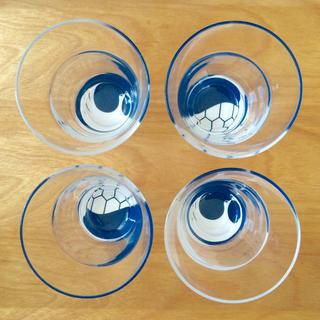 タチキチ(たち吉)のたち吉 鶴亀グラス 4点セット(グラス/カップ)