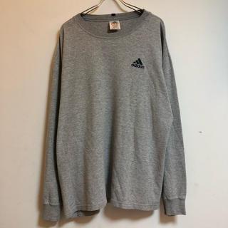 アディダス(adidas)の古着 アディダス adidas ロンT カットソー サーマル  USA製(Tシャツ/カットソー(七分/長袖))