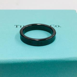 ティファニー(Tiffany & Co.)のティファニー 1837 ナローリング チタン 17号(リング(指輪))