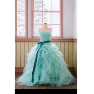 グリーン/ウエディングドレス