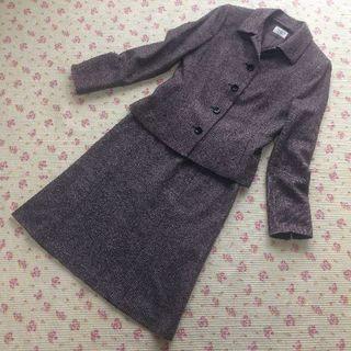アリスバーリー(Aylesbury)のアリスバーリー スカートスーツ 11 W66 パンツ W72 暖かい 秋冬(スーツ)