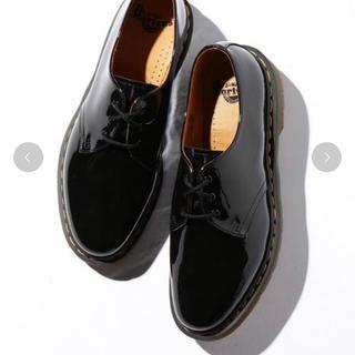 ドクターマーチン(Dr.Martens)のドクターマーチン 3ホール エナメル UK8(ブーツ)