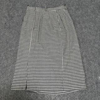 セシール(cecile)の★セシール★ギンガムチェックロングスカート(ロングスカート)