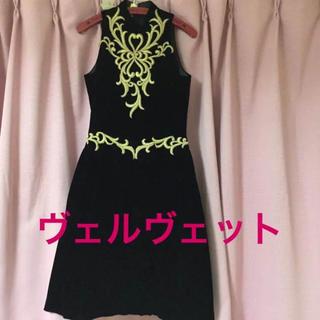 ヴェルヴェット♡ドレス(その他ドレス)