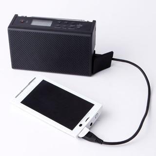 ムジルシリョウヒン(MUJI (無印良品))の無印良品 充電ラジオ M-JR20.防水仕様(その他 )