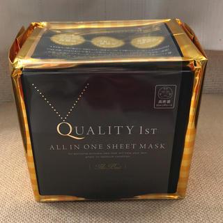 クオリティファースト(QUALITY FIRST)の新品未使用クオリティ1stオールインワンシートマスクザ・ベストEX30枚入 (パック / フェイスマスク)