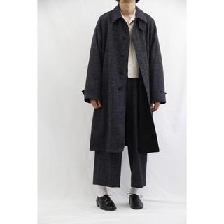 アンユーズド(UNUSED)のuru 今期新作 定価88000円 バルマカーンコート coat 希少サイズ(ステンカラーコート)