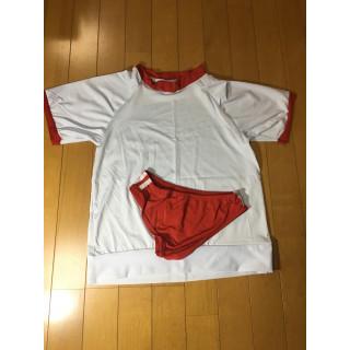 【セール中】体操服 ブルマ 赤 コスプレ (衣装一式)