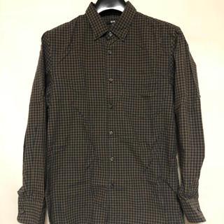 ユニクロ(UNIQLO)のUNIQLO ブロードシャツ Mサイズ(シャツ)