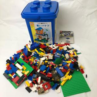 レゴ(Lego)の【大量】LEGO 基本セット 青いバケツ &RACERS パーツ含む (積み木/ブロック)