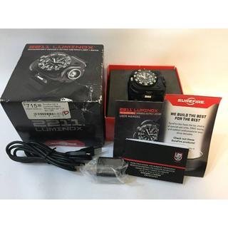 シュアファイア(SUREFIRE)の値下げSUREFIRE x LUMINOX 2211 リストライト BK-LMX(腕時計(アナログ))