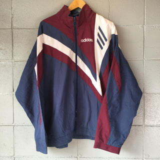 90s adidas アディダス ナイロンジャケットT165