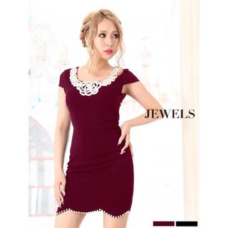 ジュエルズ(JEWELS)のjewelsタグ付新品ドレス☆ワインレッドLサイズ(ナイトドレス)
