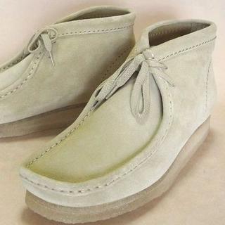 クラークス(Clarks)のClarksクラークスワラビーメープルスエード US7.5=25.5cm 正規(ブーツ)