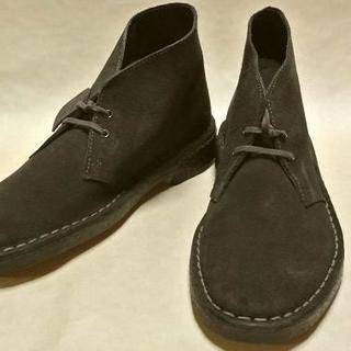 クラークス(Clarks)のClarks クラークス デザートブーツ 濃茶スエード 25.0cm 正規(ブーツ)