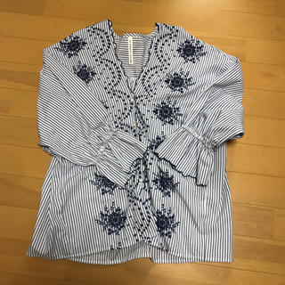 シマムラ(しまむら)のHK WORKS LONDON 刺繍ブラウス(シャツ/ブラウス(長袖/七分))