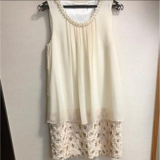 オフホワイト ドレス(その他ドレス)