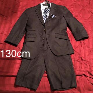 ヒロミチナカノ(HIROMICHI NAKANO)の男の子 スーツ 130cm hnB 4点セット☆(ドレス/フォーマル)