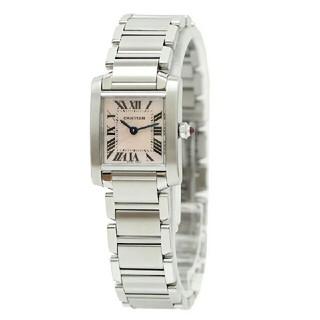 カルティエ(Cartier)のカルティエ タンクフランセーズSM W51028Q3(腕時計)
