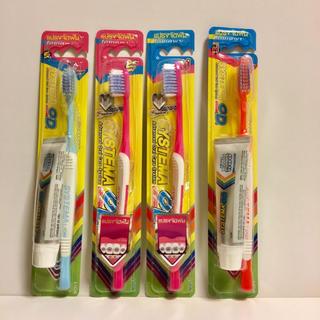 歯ブラシ 歯科矯正用 ライオン システマ 4本セット systema OD(歯ブラシ/歯みがき用品)
