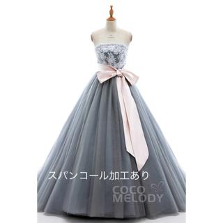 グレー ドレス