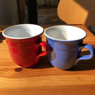 エミールアンリ(EmileHenry)のエミル アンリ  マグカップ レッド❤️新品未使用(食器)