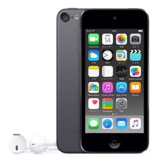 アイポッドタッチ(iPod touch)のiPod touch 32GB スペースグレイ [MKJ02J/A](ポータブルプレーヤー)
