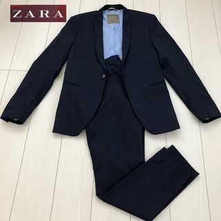 ザラ(ZARA)のZARA スーツ ジャケット ネイビー セットアップ(セットアップ)