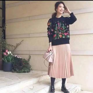 ザラ(ZARA)のZARA プリーツスカート xs(ロングスカート)