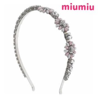 ミュウミュウ(miumiu)のミュウミュウカチューシャ(カチューシャ)